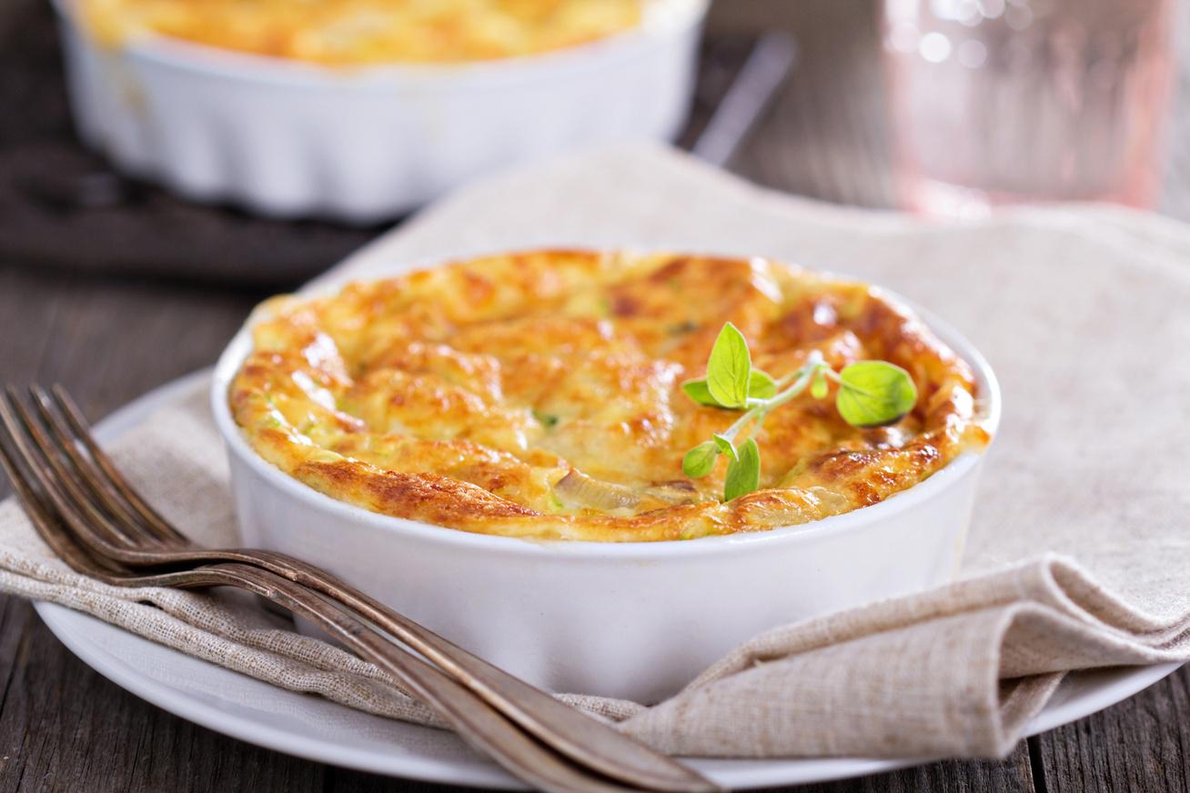 Darált húsos rakott patisszon rengeteg sajttal - Szaftos, fűszeres és kiadós