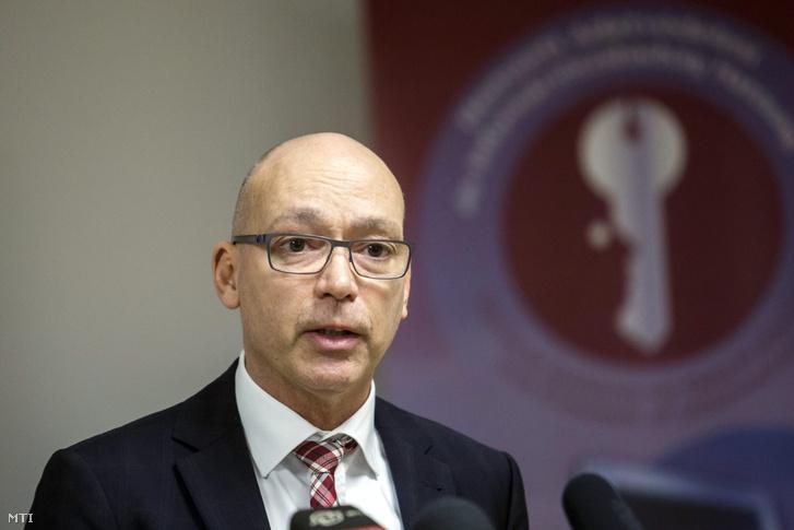 Péterfalvy Attila a Nemzeti Adatvédelmi és Információszabadság Hatóság elnöke