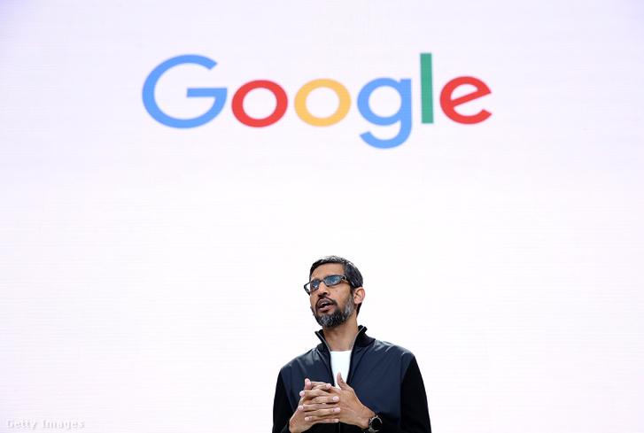 Sundar Pichai, a Google vezérigazgatója