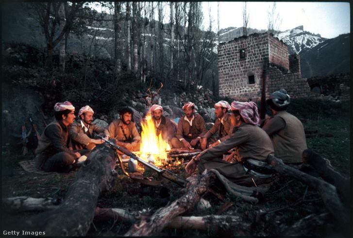 Pesmerga harcosok 1979-ben