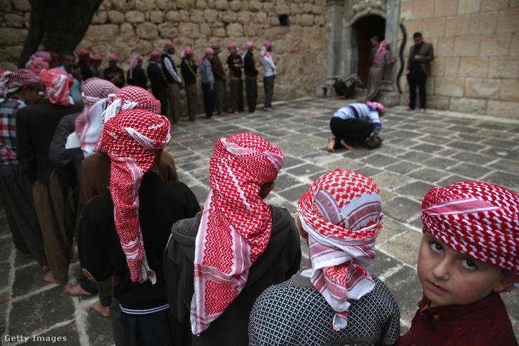 Jazidi vallási szertartás