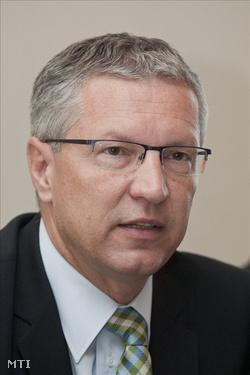 Petykó Zoltán, a Nemzeti Fejlesztési Ügynökség elnöke (Fotó: Szigetváry Zsolt)