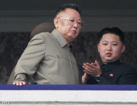 Kim Dzsongil és Kim Dzsongün