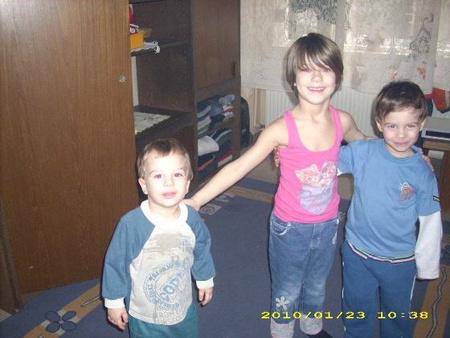 A gyerekek az albérletben