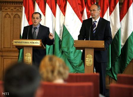 Budai Gyula és Szócska Miklós
