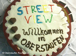 Az oberstaufeniek tortával nyaltak