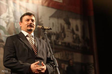 Berényi József, az MKP elnöke