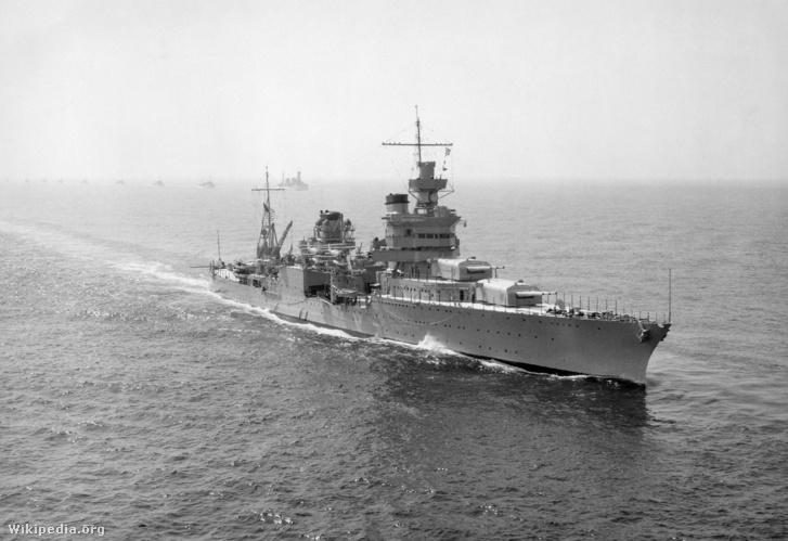 USS Indianapolis, 1939-ben.