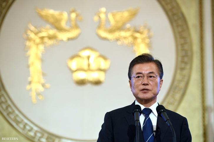 Mun Dzsein dél-koreai elnök