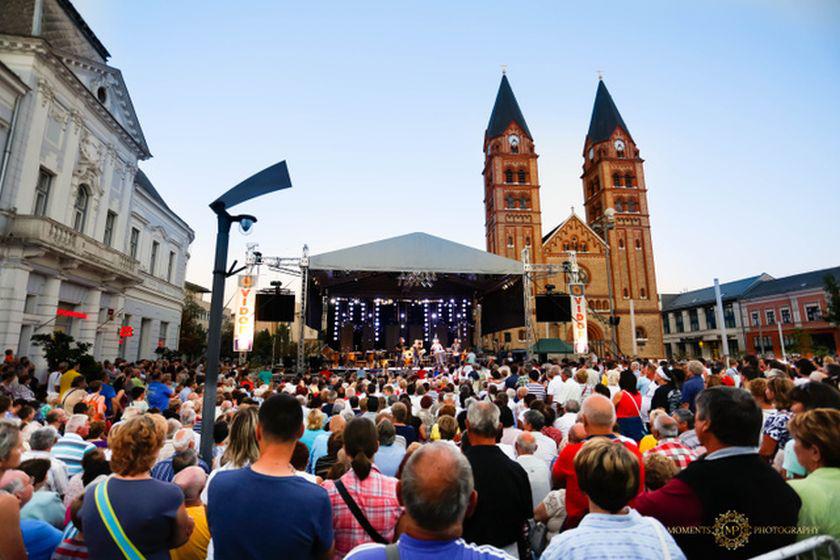 A fesztivál 16. alkalommal várja ingyenes koncertekkel a közönséget Nyíregyháza Kossuth terén és környékén