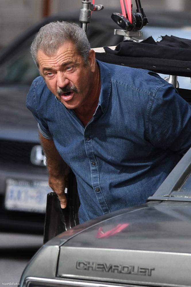 Mondjuk egy ilyen, amin, mintha Mel Gibson becsinálna éppen.