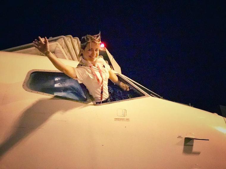 Most, hogy ezek után minden magyar nő pilótának áll majd, elégedetten búcsúzunk, és ajánljuk a lány Instagram-fiókját további megtekintésre