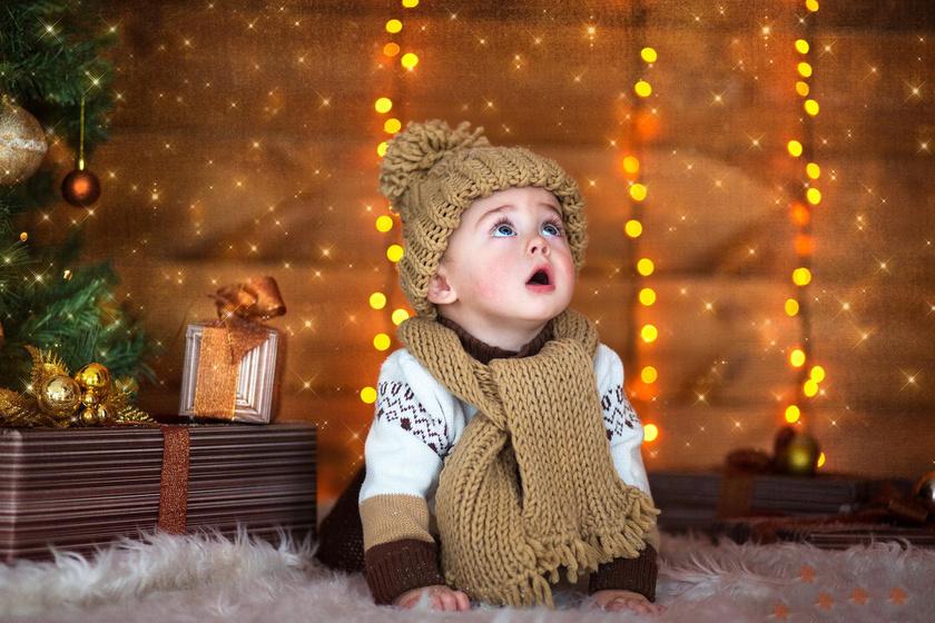 Az első karácsony bűvölete - ezt szavakkal nem is lehetne elmondani.