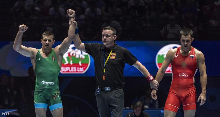 Korpási az orosz Adam Kurakot verte a bronzmeccsen