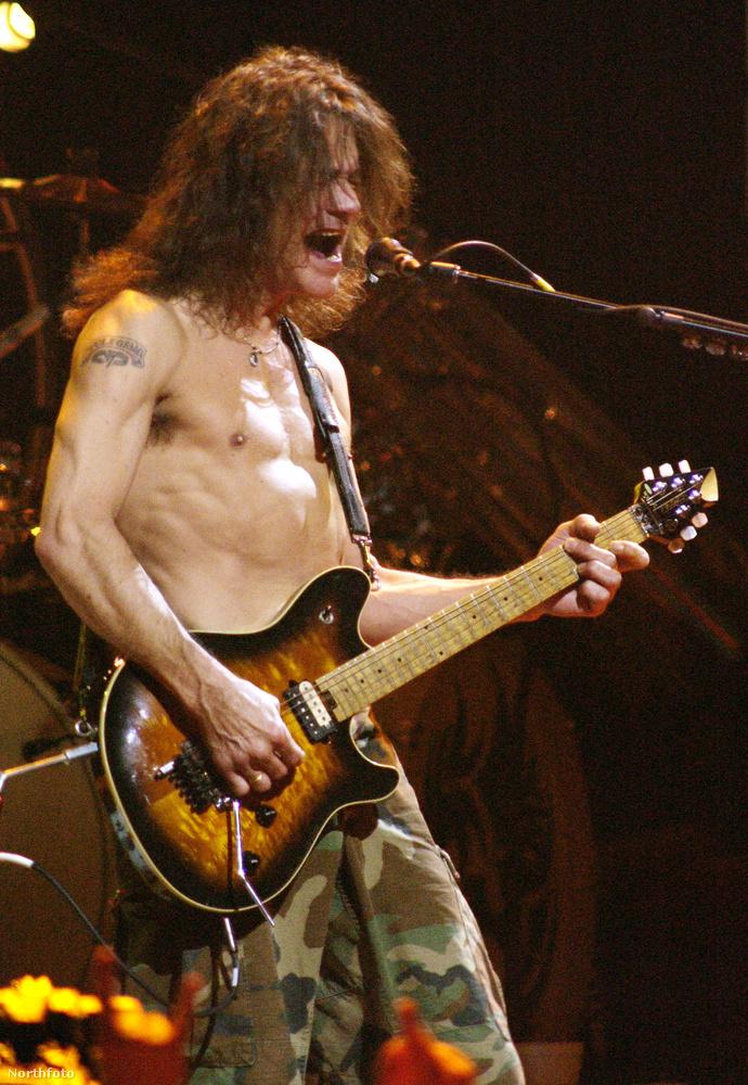 Vagy ha úgy jobban tetszik, Eddie Van Halen