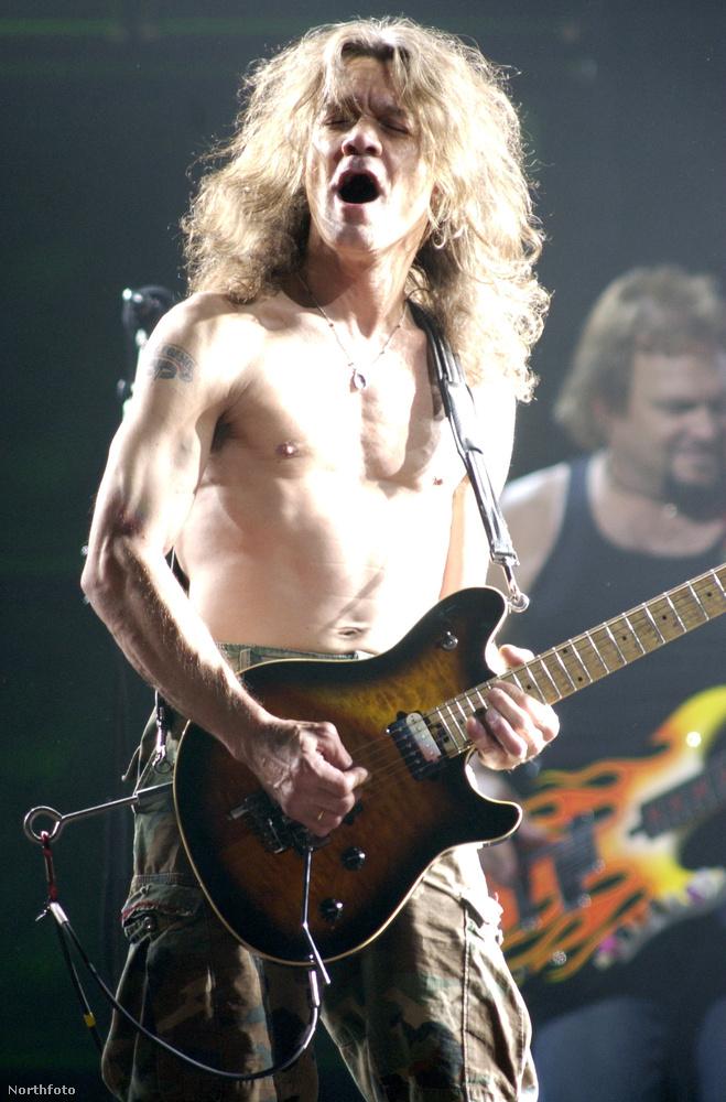 Hát persze, ő Edward Lodewijk van Halen!