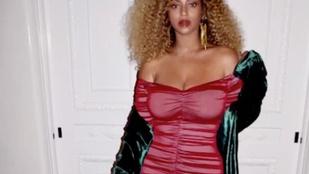 Beyoncé értelmezhetetlen videóval mutatta meg szülés utáni alakját