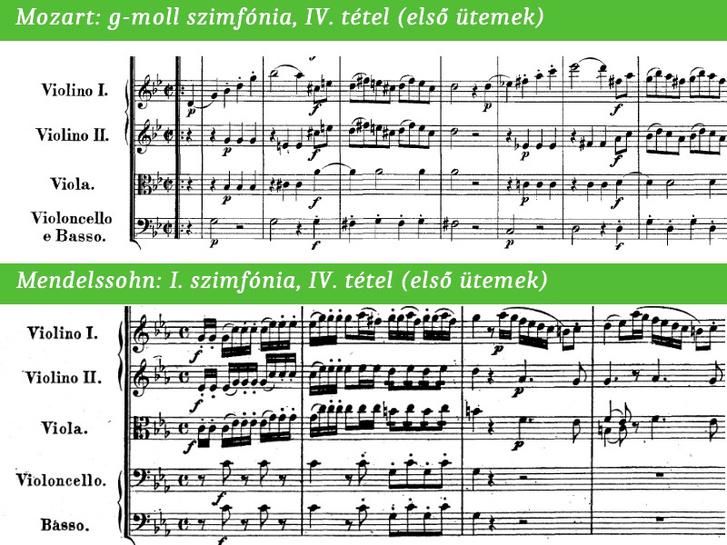 Az enyveskezű Mendelssohn Mozarttól lop.