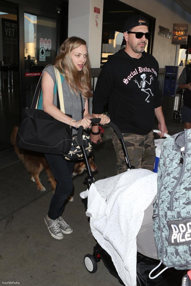 A színésznő márciusban szülte meg Thomas Sadoskival közös, első gyerekét, egy kislányt, kinek neve és arca egyelőre ismeretlen