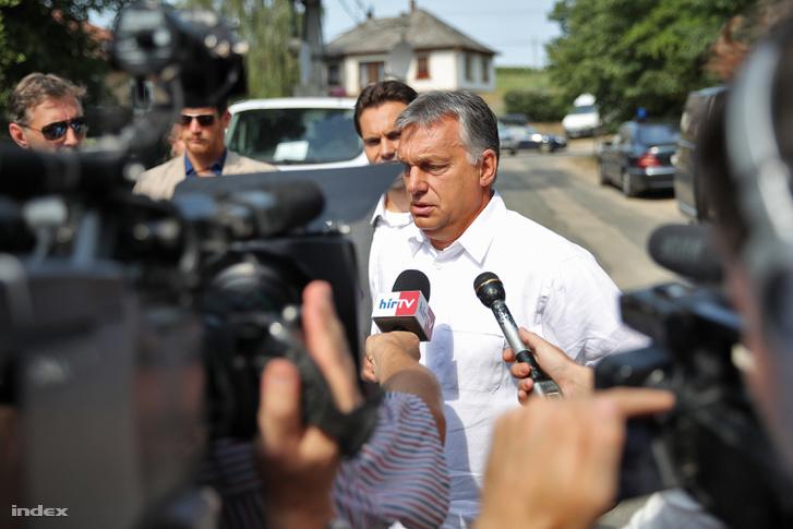 Orbán Viktor a 2016-os pikniken