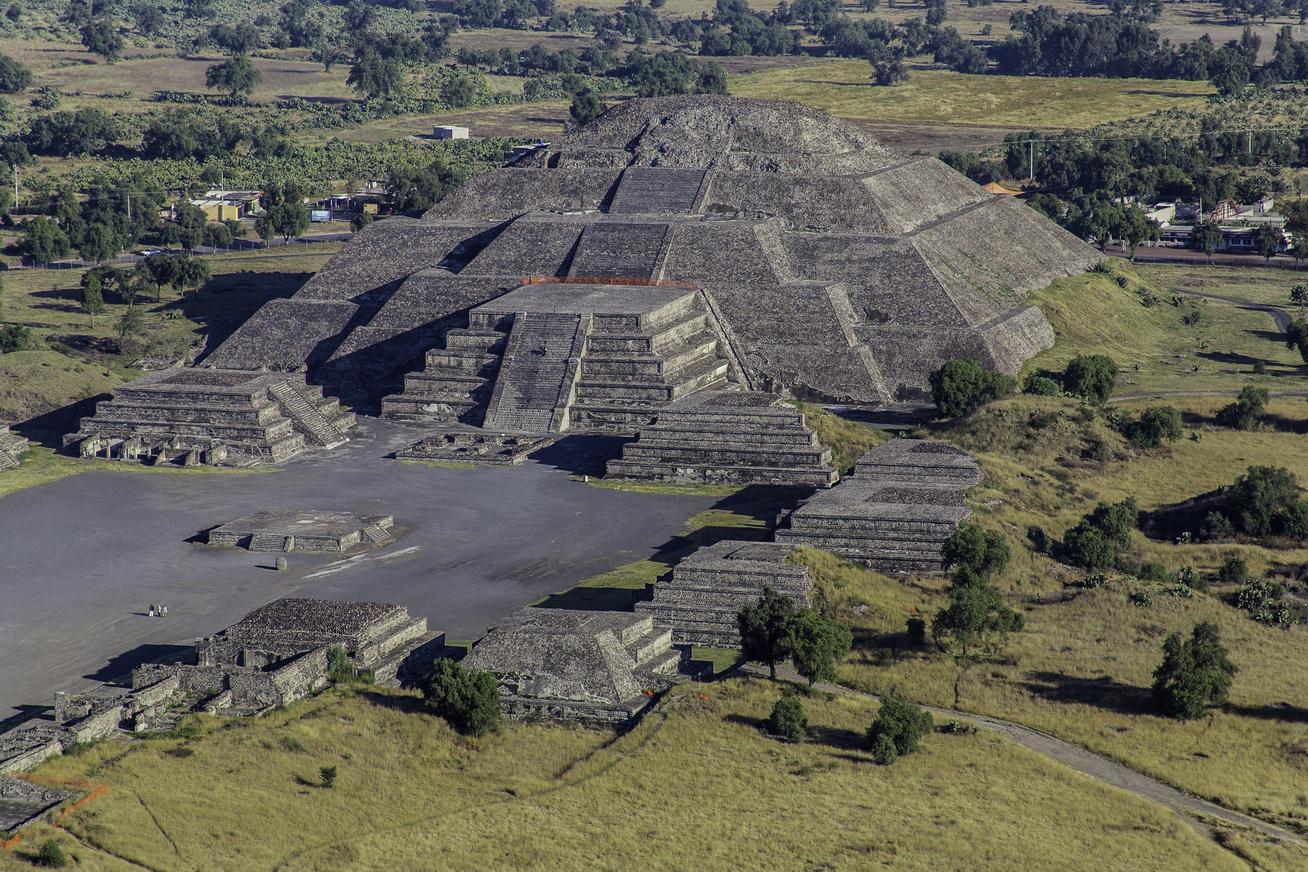 Teotihuacán-piramis