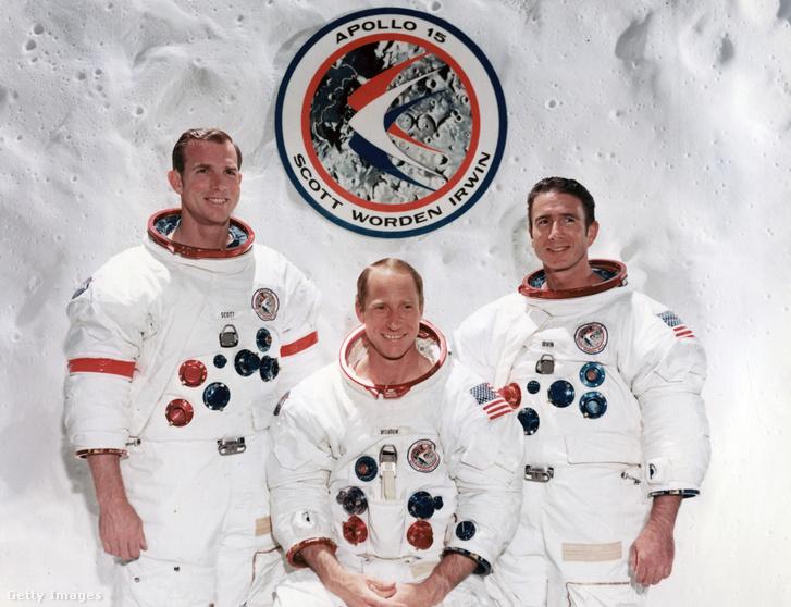 David R. Scott, Alfred M. Worden és James B. Irwin