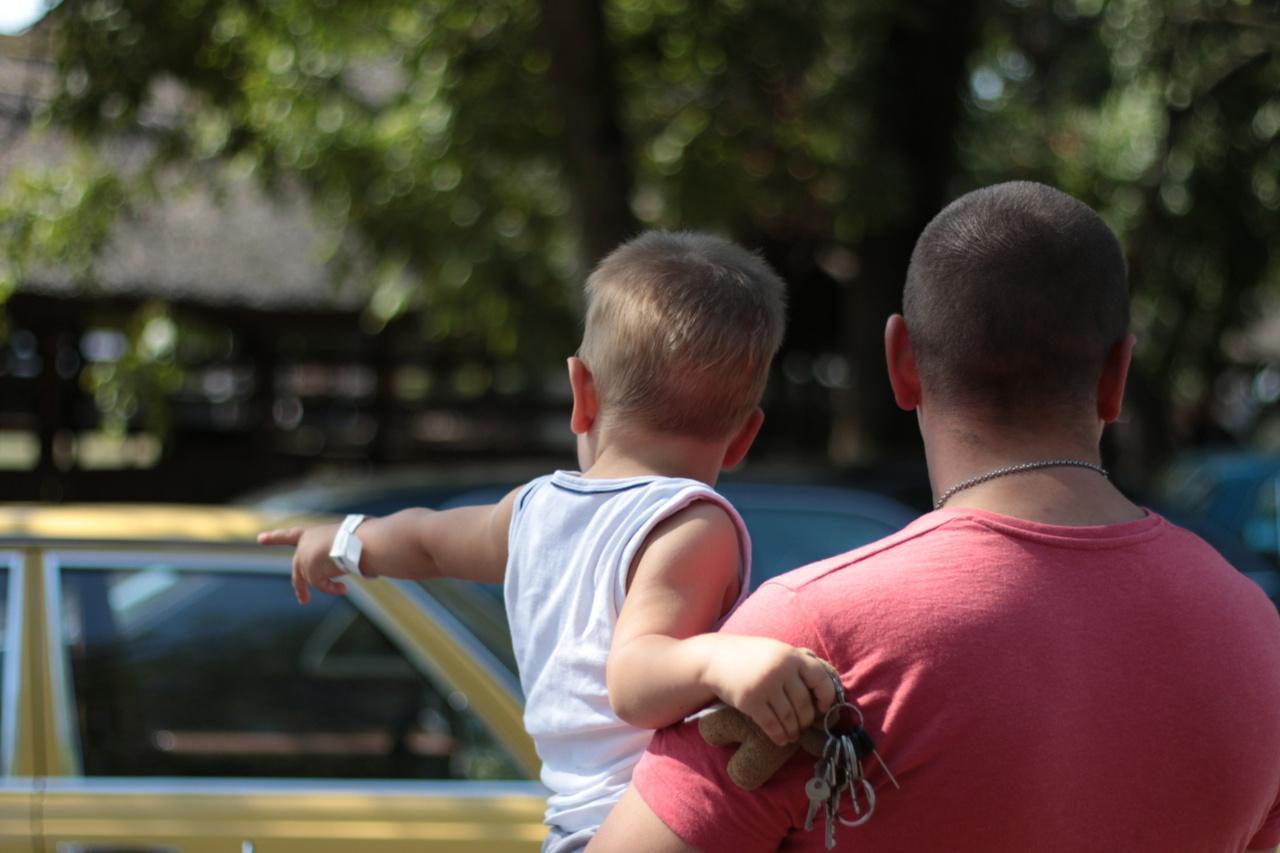 Apa, ha nagy leszek, én is drifter leszek. Vagy traktoros, még nem döntöttem el