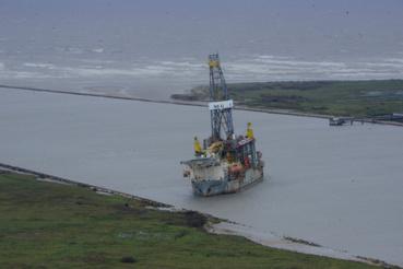 Aransas kikötőjében több hajó is bajba került.