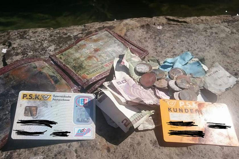 Egy osztrák halász beleejtette a pénztárcáját az Attersee-tóba. 20 évvel később ugyanott merített, és megtalálta a tárcát az egyik hálóban.
