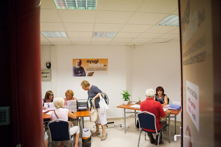 A miskolci szövetkezet irodája