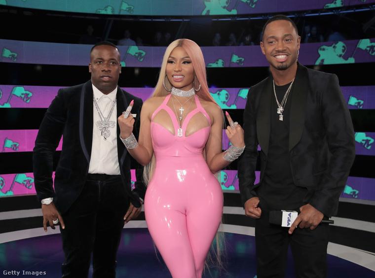 Szóval egy idő után Nicki Minaj úgy érezte a Video Music Awardson, hogy ha tevepata, akkor tevepata, mindenki bekaphatja.