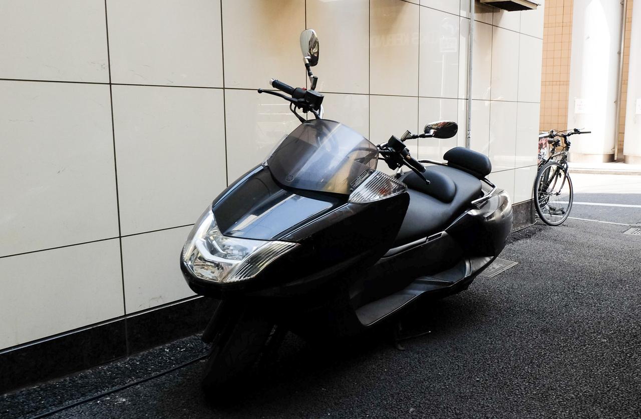 Yamaha Maxxam, a világ legvagányabb robogója, ami még a Helixet is háromszor lekörözi