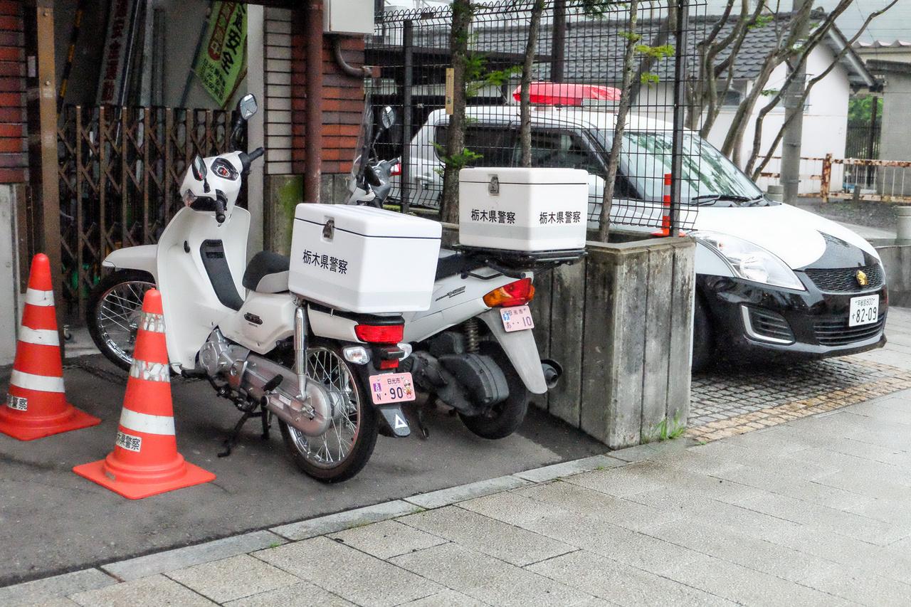 A körzeti meghízottak motorjai Nikkóban
