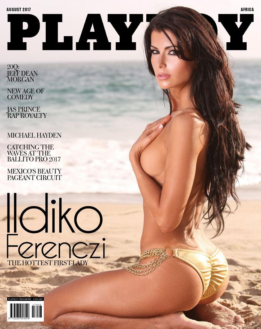 Ildiko Ferenczi a húszas évei végén jár, és idén augusztusban megcsodálhattuk a Playboy címlapján is.