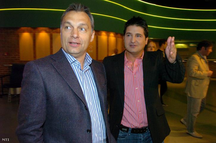 Orbán Viktor és Hajdú Péter 2008-ban