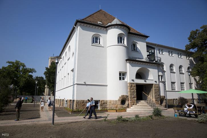 A Vakok Állami Intézete Hermina úti épülete 2014. szeptember 19-én.
