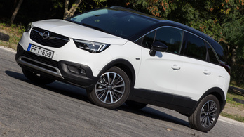 Teszt: Opel Crossland X 1.6 CDTI Innovation – 2017.