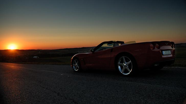 ... a szupergiccses naplementét.
