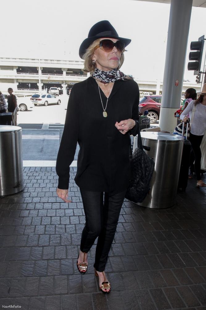 Jane Fonda a napokban felkeresett egy manikűr szalont, ám a látogatása nem volt annyira felhőtlen, mint azt tervezte.
