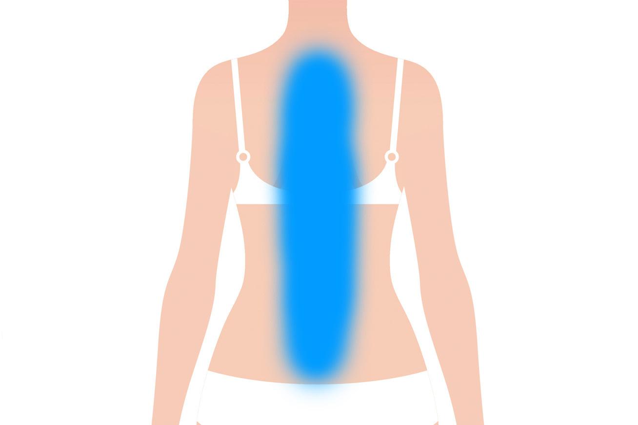 karcsú le a hát alsó részén hogyan lehet zsírégetést hasra