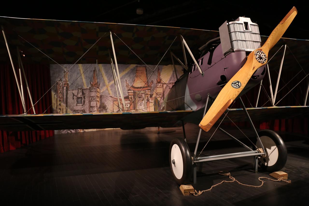 Ezt a háború után Amerikába vitt Pfalz D.XII kétfedelű német gépet előszeretettel használták Hollywoodban filmes jelenetekhez, később kaszkadőr-rmutatványokhoz
