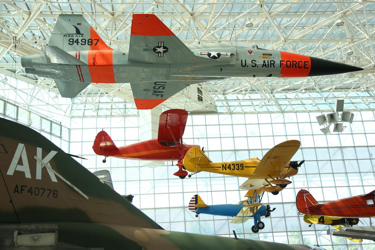 Northrop YF-5A (N-156F) Freedom Fighter, az 1959-ben bemutatott két hajtóműves könnyű F-5-ös vadászgép prototípusa.