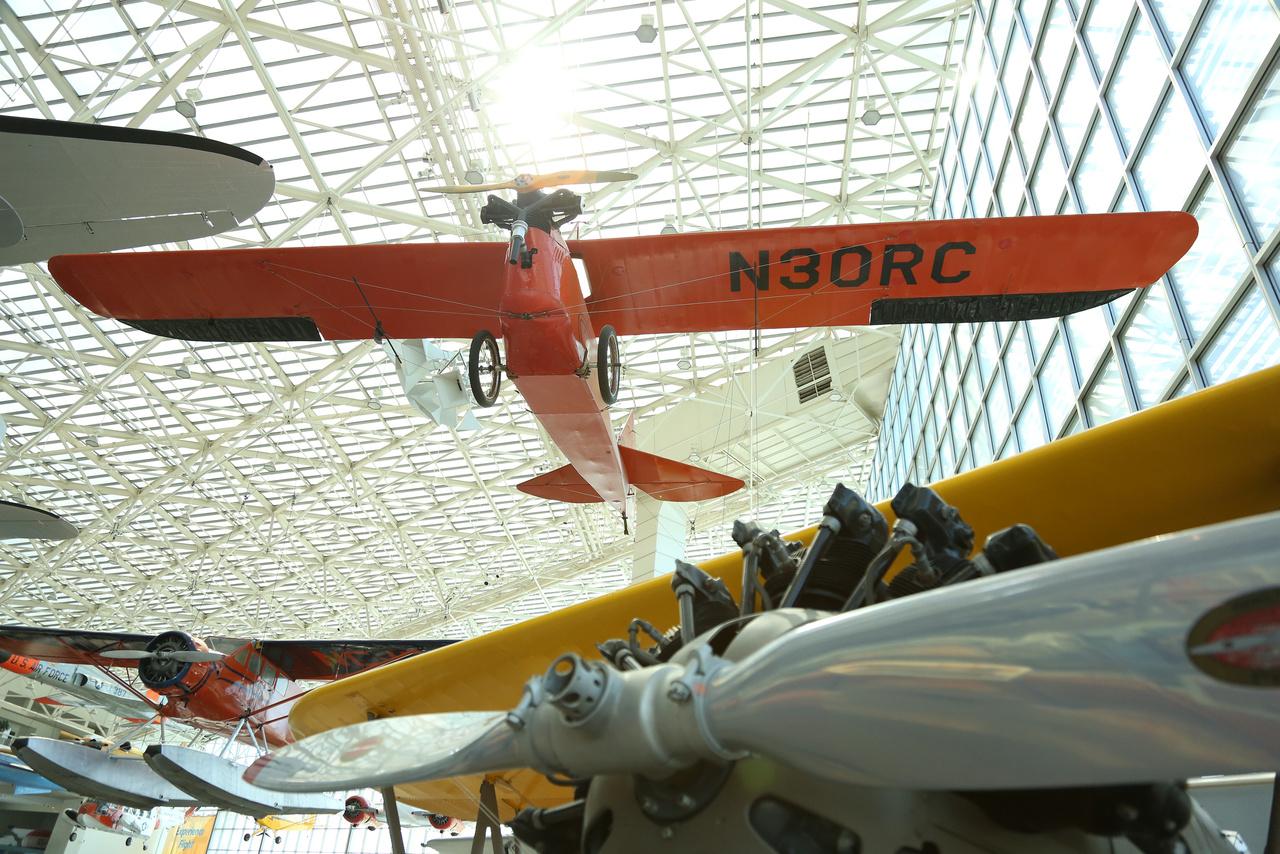 Egy Aeronca (Aeronautical Corporation of America) C-2 könnyű repülőgép 1929-ből.