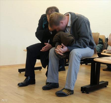 N. Zoltán vádlott a Pest Megyei Bíróságon