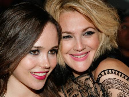 Ellen Page és Drew Barrymore
