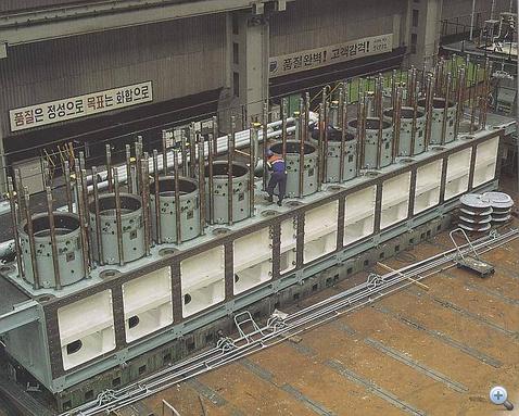 Egy kisebb, kilenchengeres motor épül a gyárban
