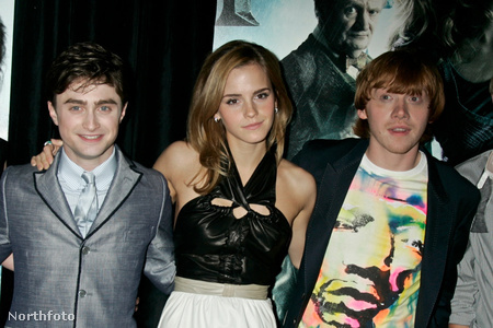 Harry, Hermione és Ron