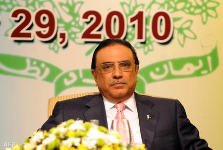 Aszif Ali Zardari pakisztáni elnök