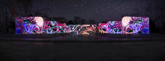 A Múzeumok Éjszakáján fényben úszó Munkásmozgalmi Panteon