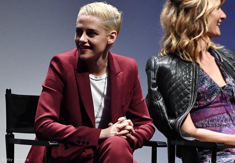 4. A New York-i filmfesztivál eseményén Laura Dern ült mellette októberben.